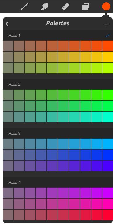 Larger color palettes